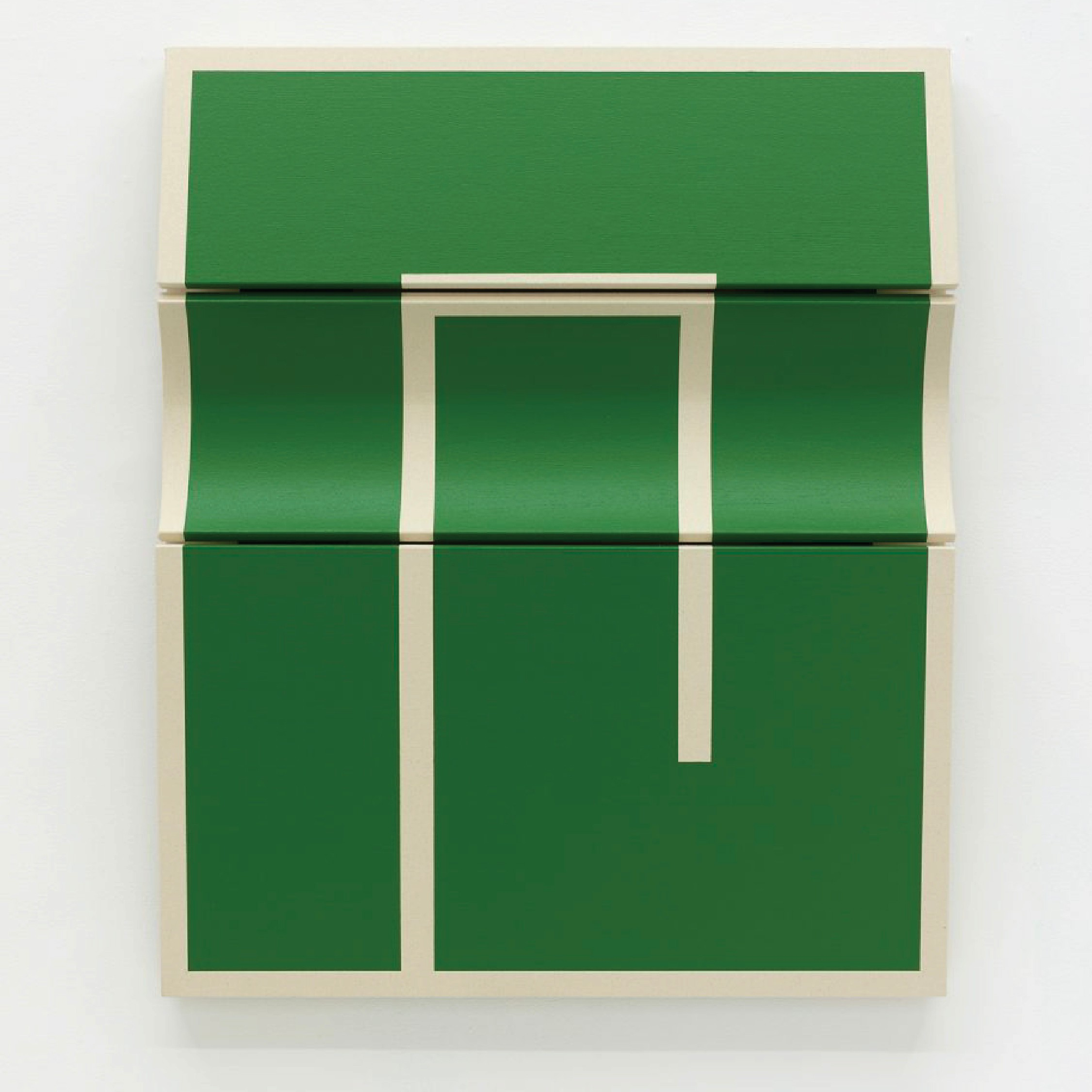 The image of an Untitled Green Segment II, Robert Moreland product